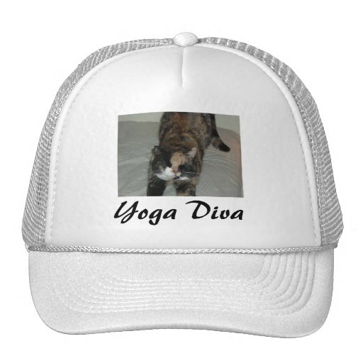 Yoga Cat Mesh Hats