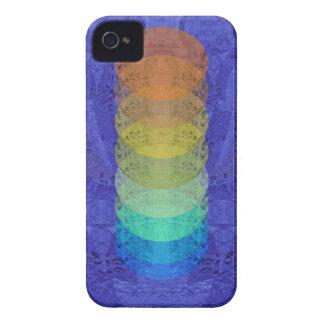 Yoga Chakra Tapestry Design iPhone 4 Case