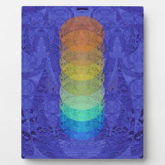 Yoga Chakra Tapestry Design Plaque