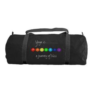 Yoga Chakra Workout Gym Bag Gym Duffel Bag