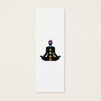 Yoga Chakras Fitness Exercise Mini Business Card
