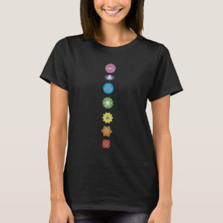 Yoga Chakras Fitness Exercise T-Shirt