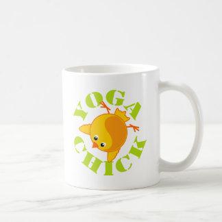 Yoga Chick Basic White Mug