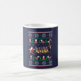 Yoga Christmas Coffee Mug