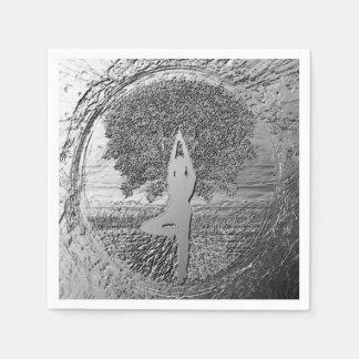 Yoga Chrome Tree of Life Disposable Serviette