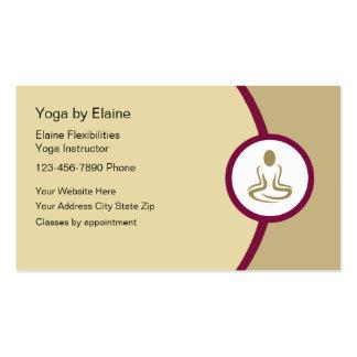 Yoga Class Business Cards