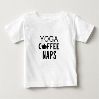 Yoga Coffee Naps Baby T-Shirt