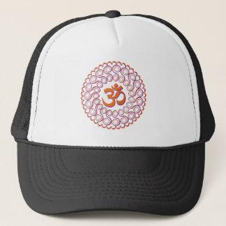Yoga Design / Om Motif 2 Trucker Hat