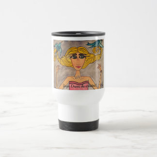 Yoga Divas do it better! Travel Mug