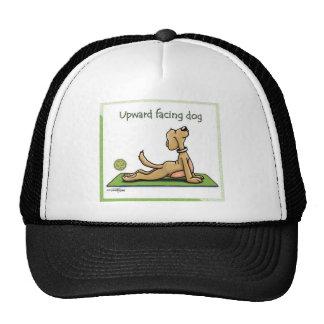 Yoga Dog - Upward Facing Dog Pose Cap