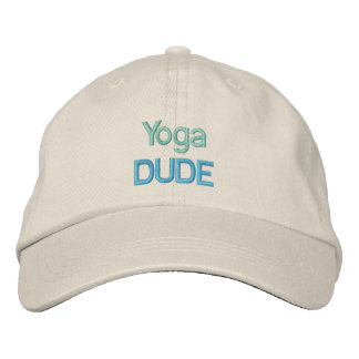 YOGA DUDE cap