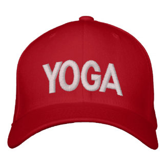 Yoga Embroidered Cap ... fadsfbdshgafhjgfasd