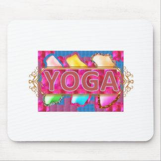 YOGA Enchanting Energy Print Mouse Pads