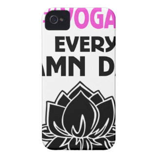 YOGA every DAY iPhone 4 Case-Mate Case