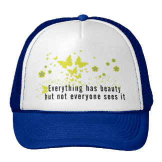Yoga Everything has beauty... Trucker Hat