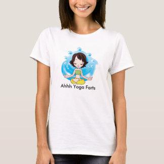 Yoga Farts Women's Basic T-Shirt, White T-Shirt