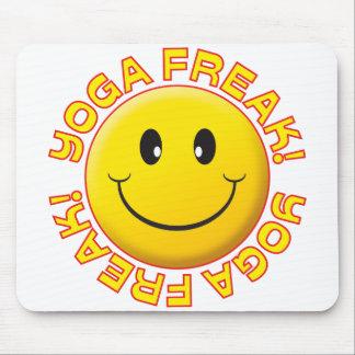 Yoga Freak Smile Mousepad