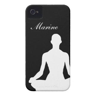 Yoga Girl iPhone 4 Case