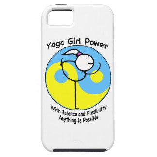 Yoga Girl Power Logo iPhone 5 Cover