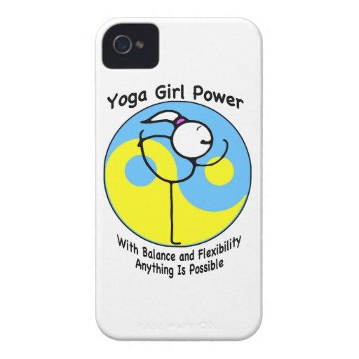 Yoga Girl Power Logo iPhone 4 Case-Mate Case
