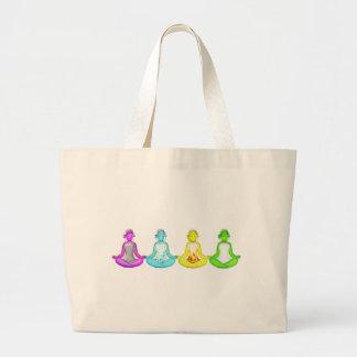 Yoga Girls Large Tote Bag