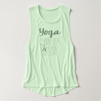 Yoga, Green Tea & Dark Chocolate Mint Tank Top