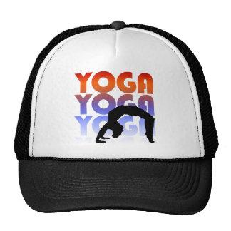 yoga mesh hat