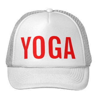 YOGA Hat Red