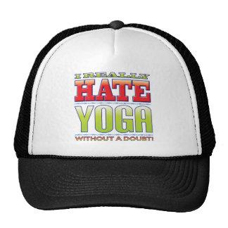 Yoga Hate Hats