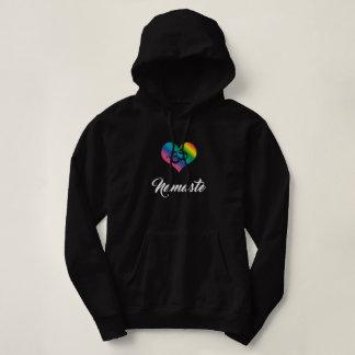 Yoga Hoodie hood shirt black Yogini