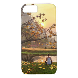 yoga in paradise iPhone 7 case