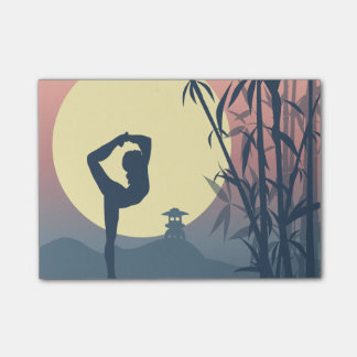 Yoga in the Mist Post-it Notes