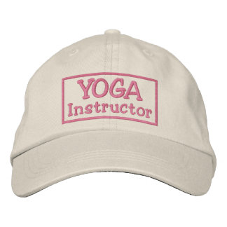 Yoga Instructor Embroidered Hats