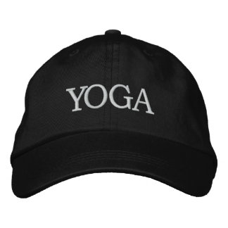 YOGA Instructor Hat Embroidered Baseball Caps