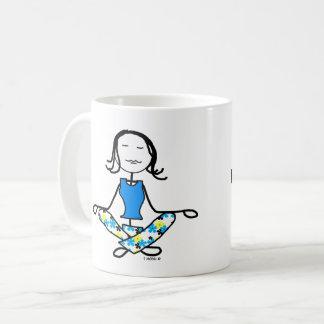 Yoga Karma Meditation Mug Personalize