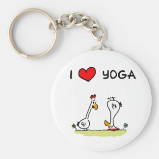 Yoga Key Ring