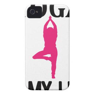 YOGA LIFE design cute Case-Mate iPhone 4 Cases