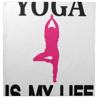 YOGA LIFE design cute Napkin