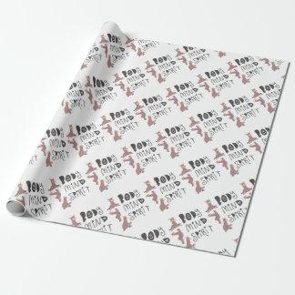Yoga Llamas Wrapping Paper