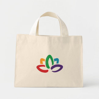 Yoga 'Lotus Flower' Tote Bag