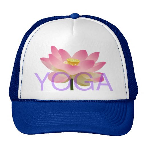 yoga lotus hat