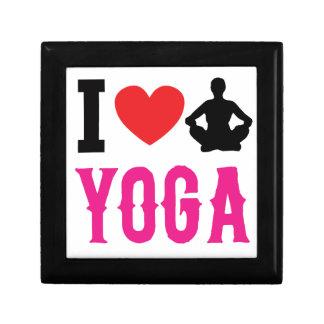 yoga love girl cute gift box