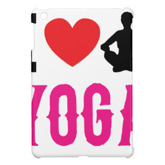 yoga love girl cute iPad mini case