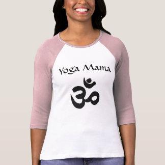 Yoga Mama Hinduism Pink Raglan T-Shirt