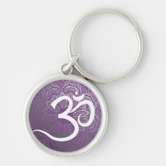 Yoga Mandala Keychain