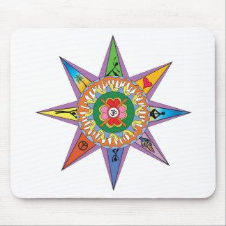Yoga Mandala Mousepad