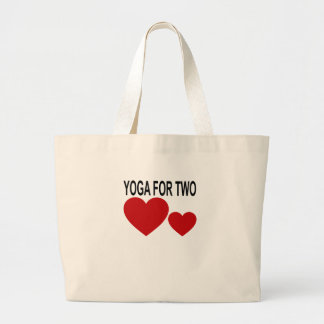 YOGA MATERNITY FOR TWO . LARGE TOTE BAG