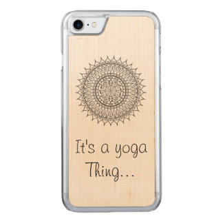 Yoga medallion Iphone Case