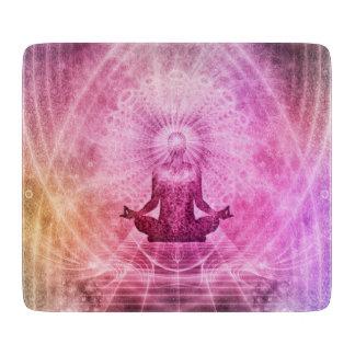 Yoga Mediation Cutting Board