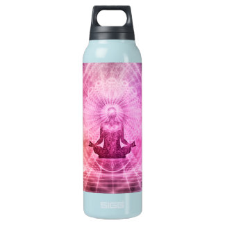 Yoga Mediation Insulated Water Bottle